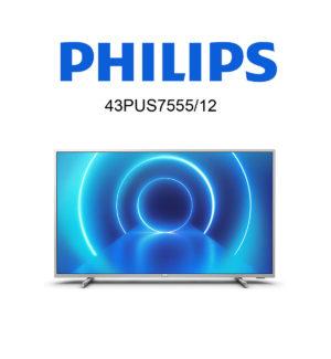 Philips 43PUS7555/12 UHD Fernseher mit Saphi SmartTV