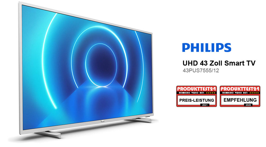 Philips 43PUS7555/12 im Test