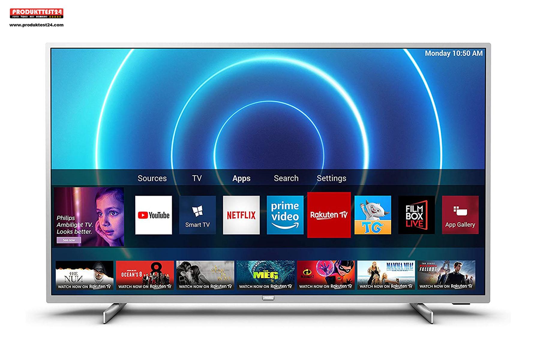 Der preiswerte SmartTV von Philips (Philips 43PUS7555/12)