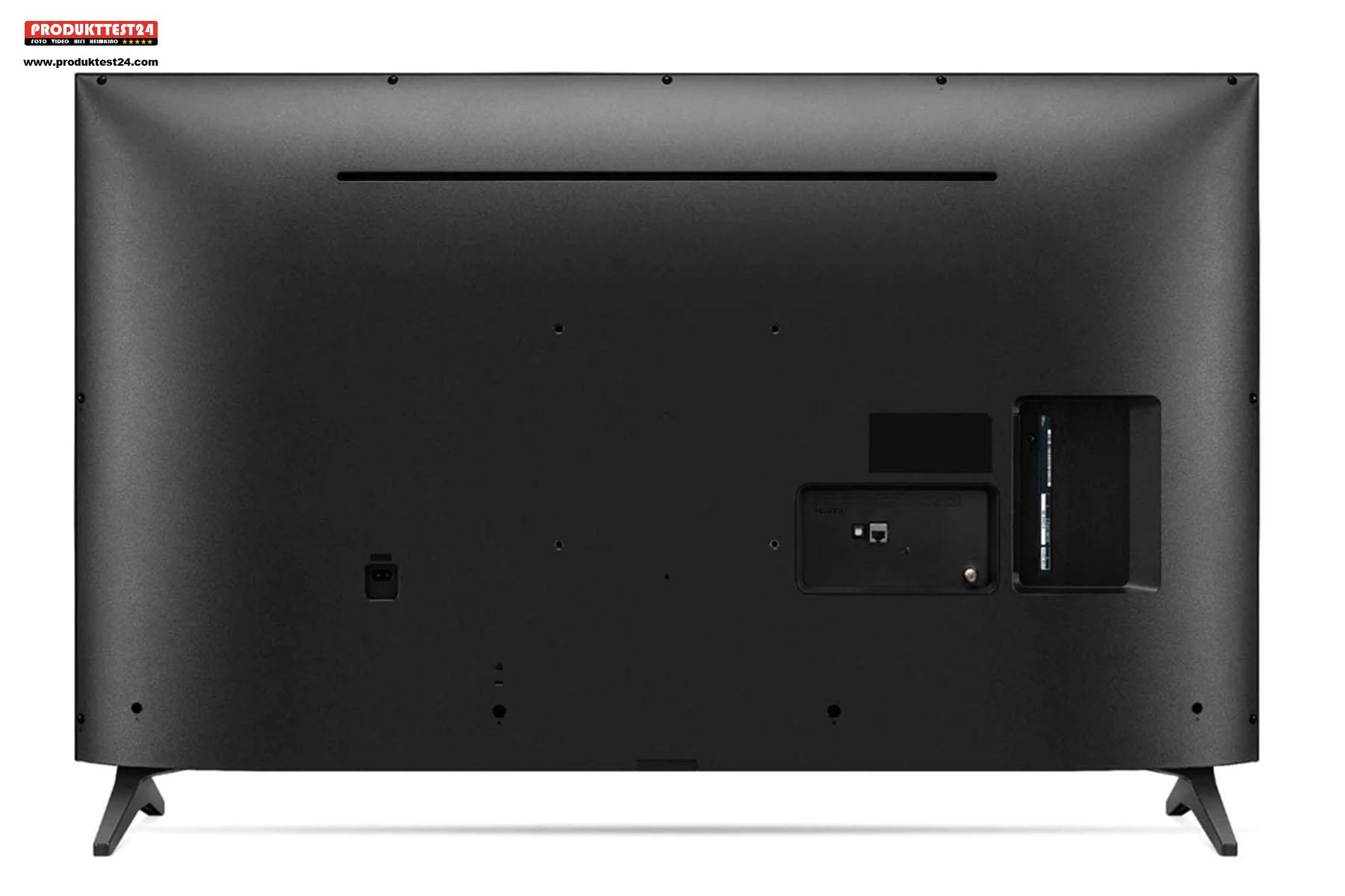 Der LG 50UP75009LF ist nicht gerade schlank