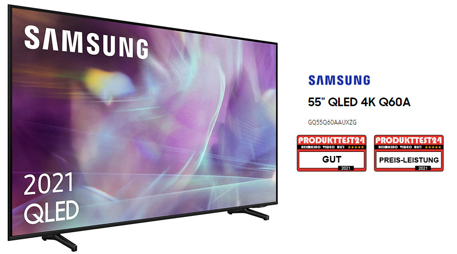 Samsung GQ55Q60A QLED 4K-Fernseher im Test