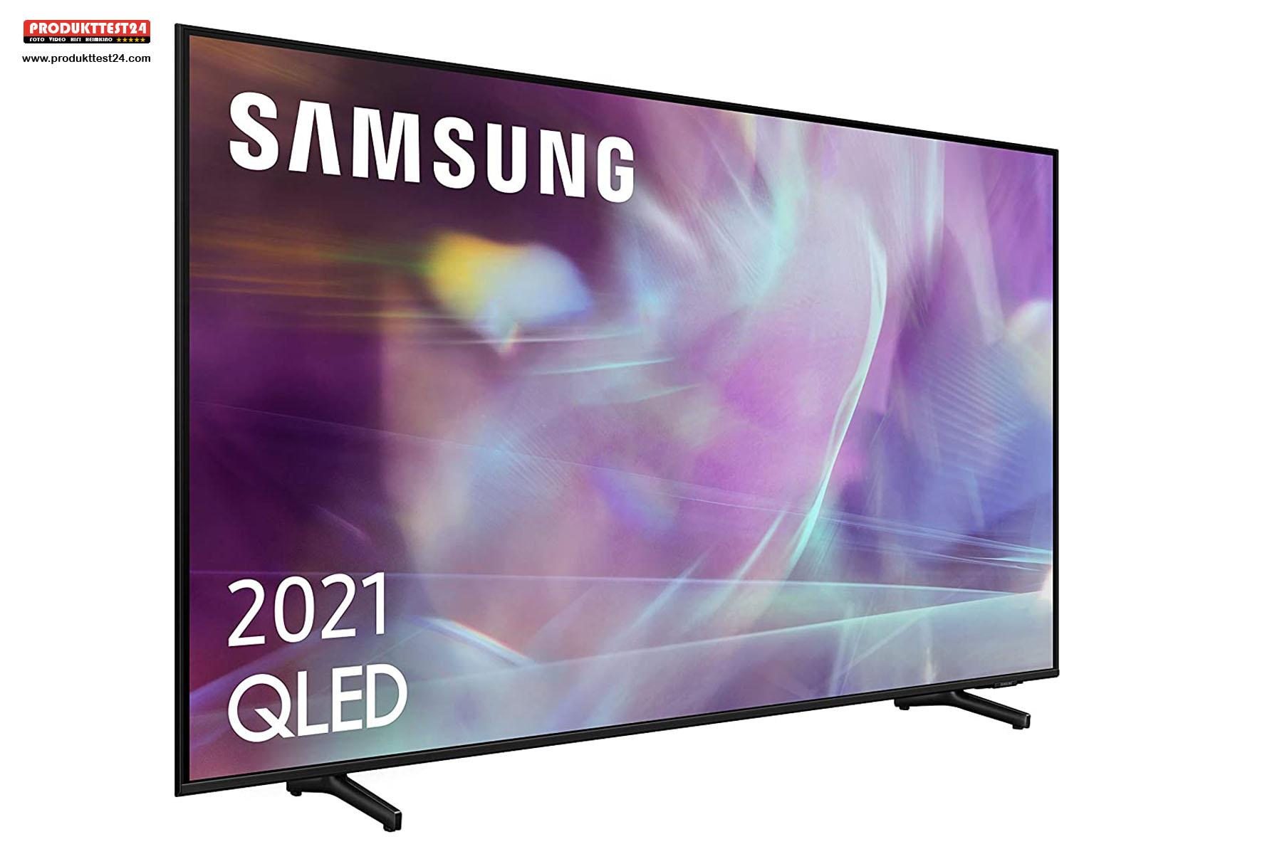 Der Samsung GQ55Q60A verfügt über ein Dual LED Panel.