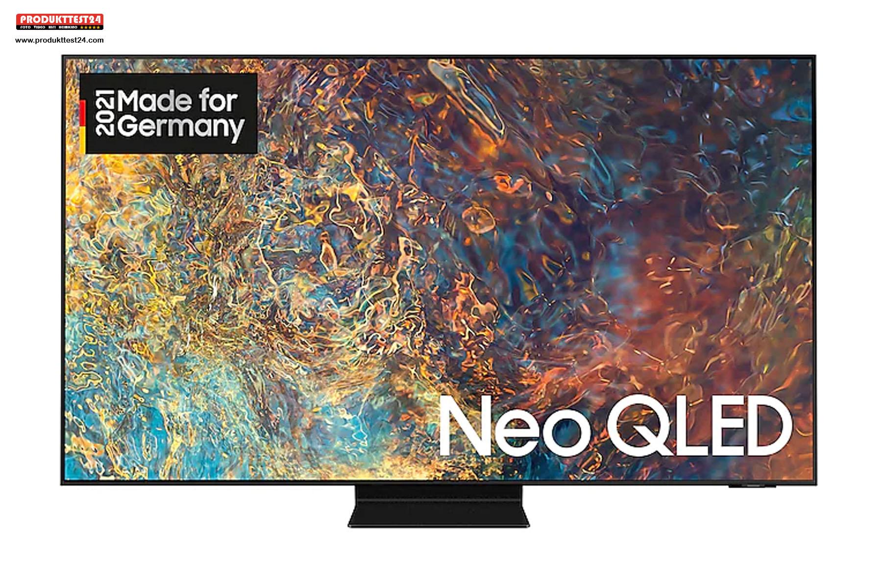 Der Samsung GQ65QN90A bietet eine enorme Bildqualität mit perfektem Schwarz und hellen leuchtenden Farben