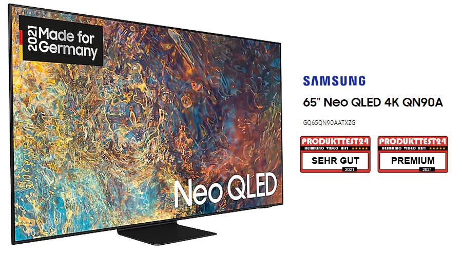 Der Samsung GQ65QN90A im Test