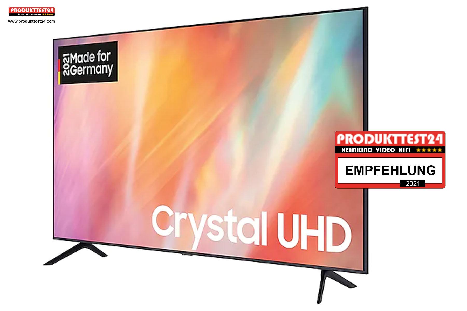Der 43 Zoll große Samsung GU43AU7179 Crystal UHD Fernseher