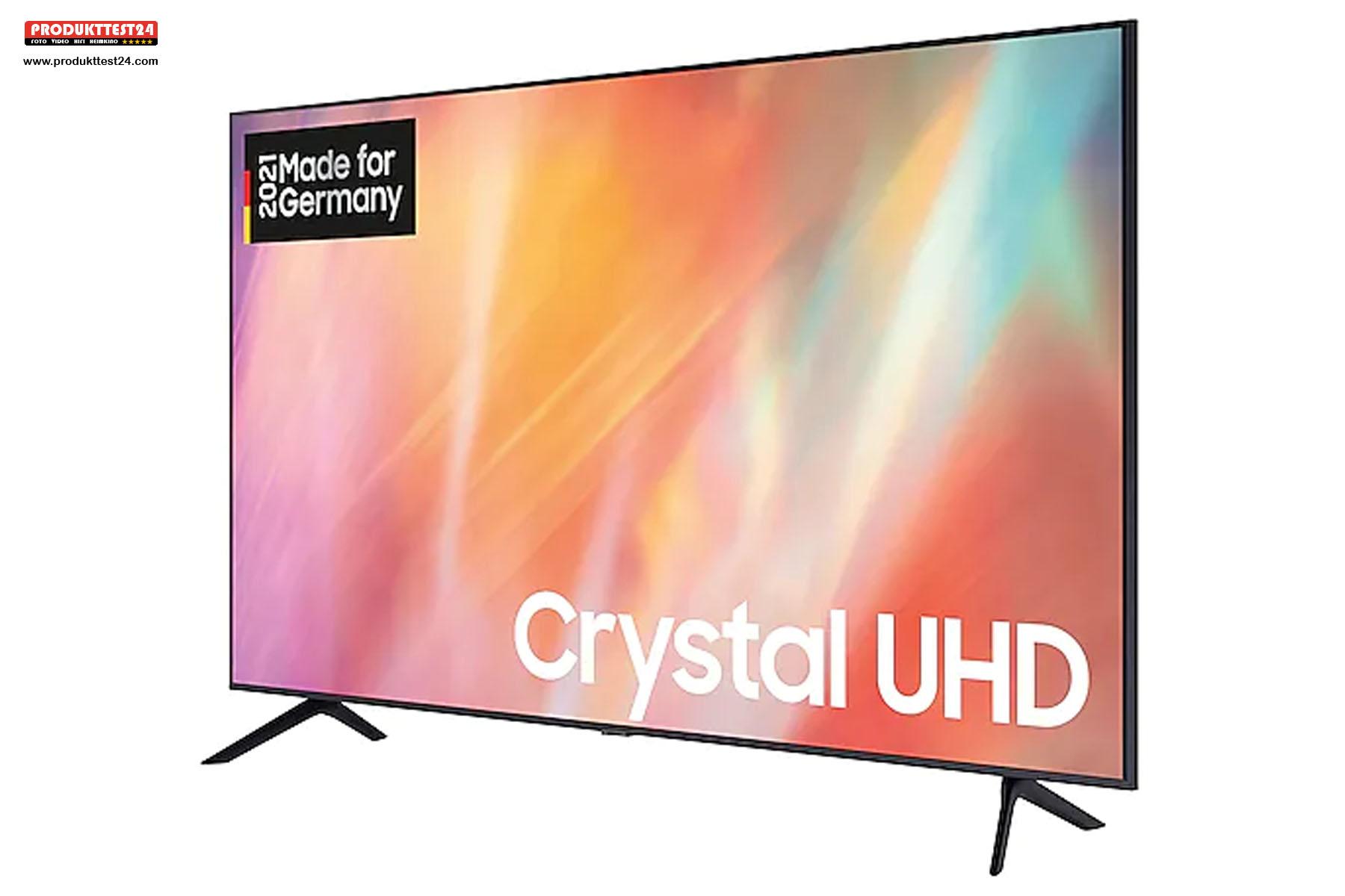 Samsung GU65AU7179 4K-Fernseher mit riesigem 65 Zoll Bildschirm