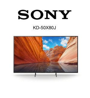 Der Sony KD-50X80J 4K-UHD Fernseher