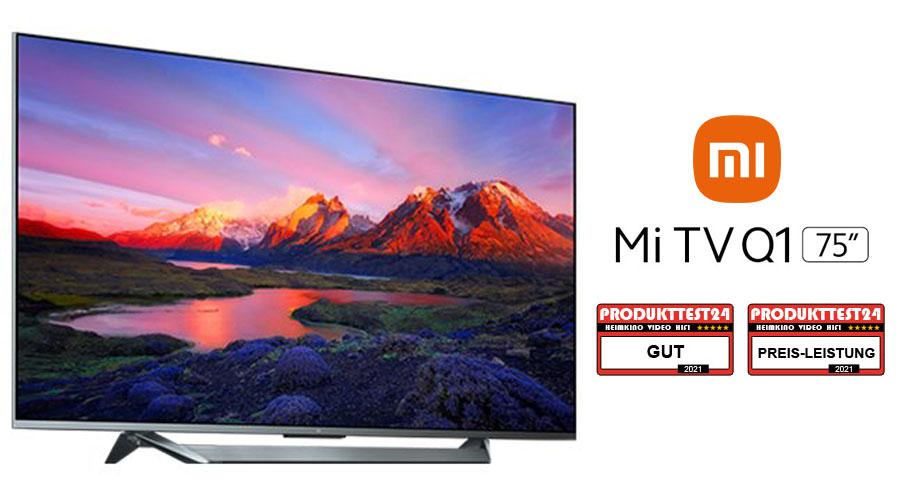 "Xiaomi Mi TV Q1 75"" Test"