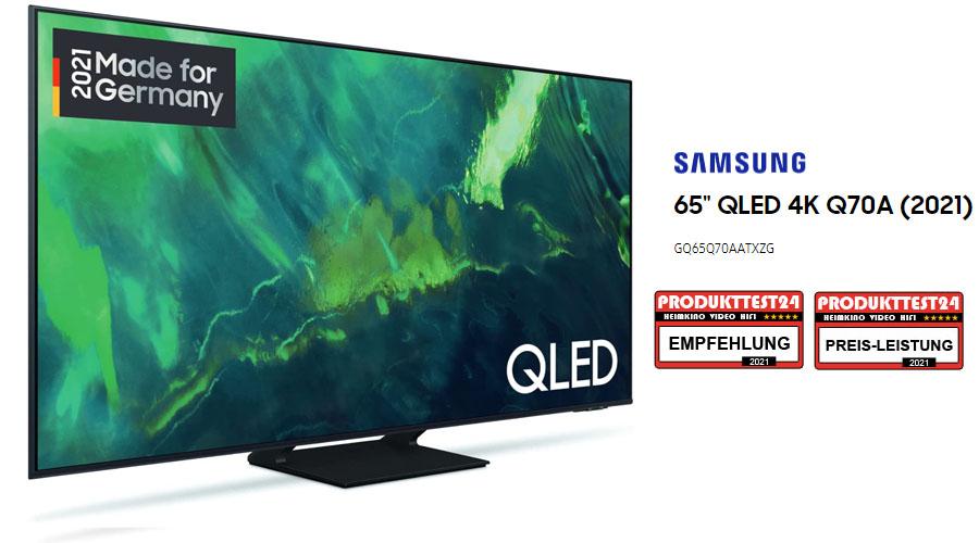 Samsung GQ65Q70A im Test