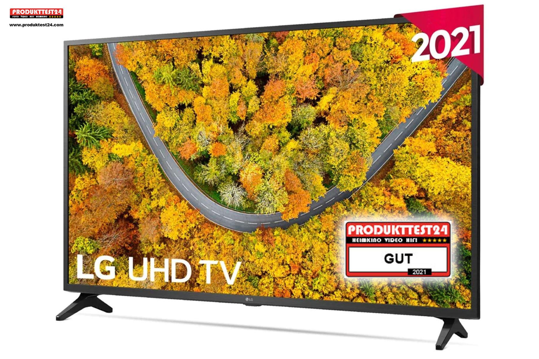 Der günstige 43 Zoll 4K-Fernseher von LG