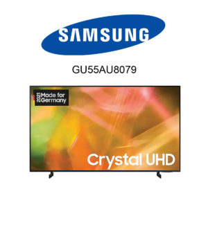 Samsung GU55AU8079 UHD 4K-Fernseher im Test