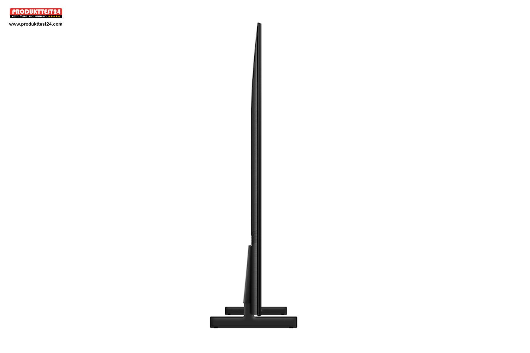 Einer der schlankesten Fernseher in seiner Preisklasse. Nur 2,6 cm tief.