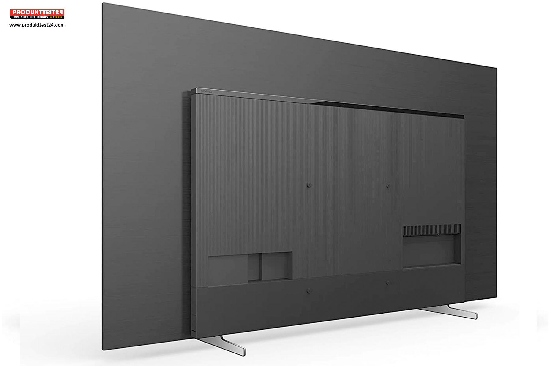 Die Rückseite des Sony KE-65A8/P OLED Fernseher