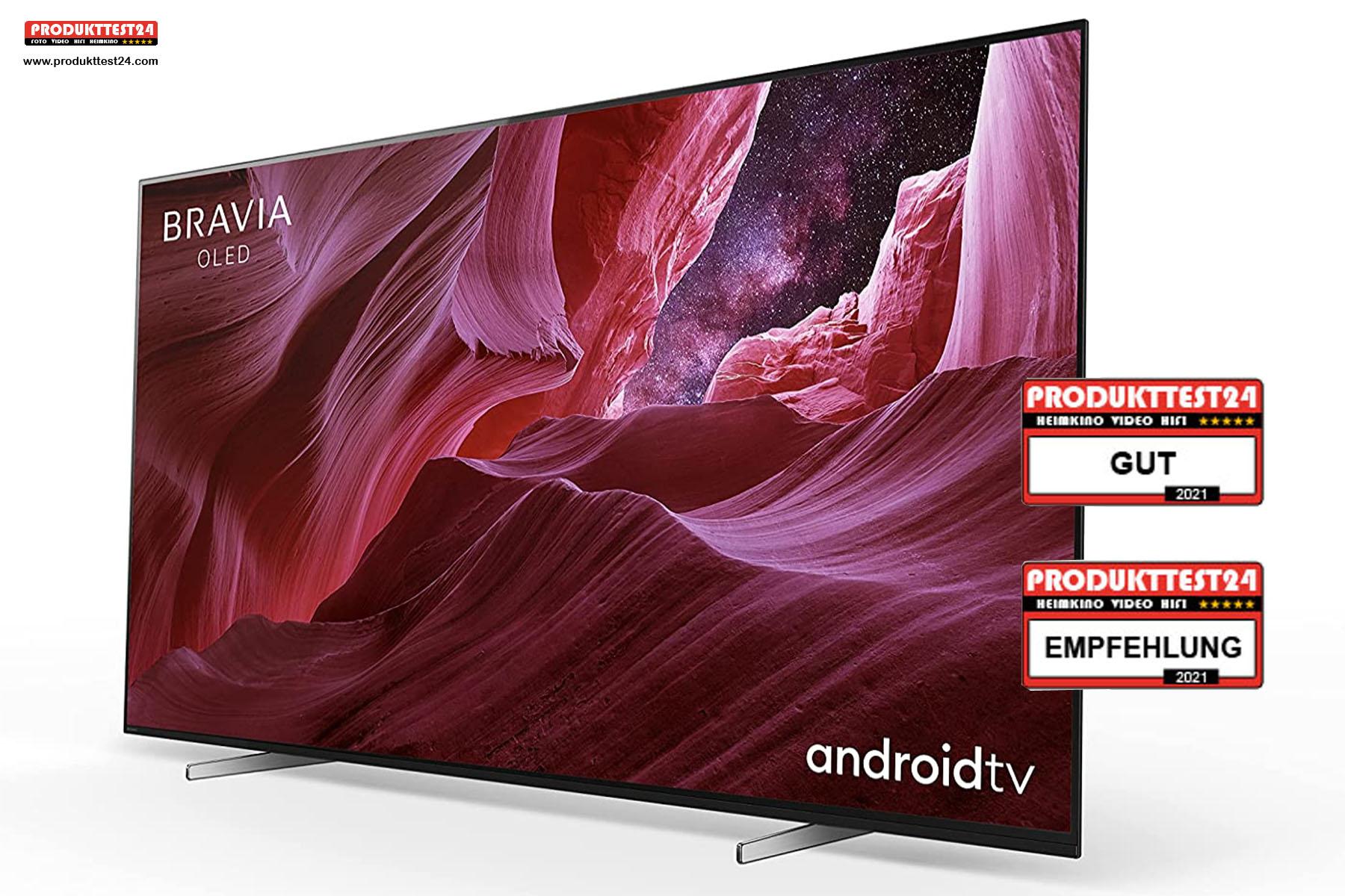 Sony KE-65A8/P OLED 4K-Fernseher - Testurteil: GUT