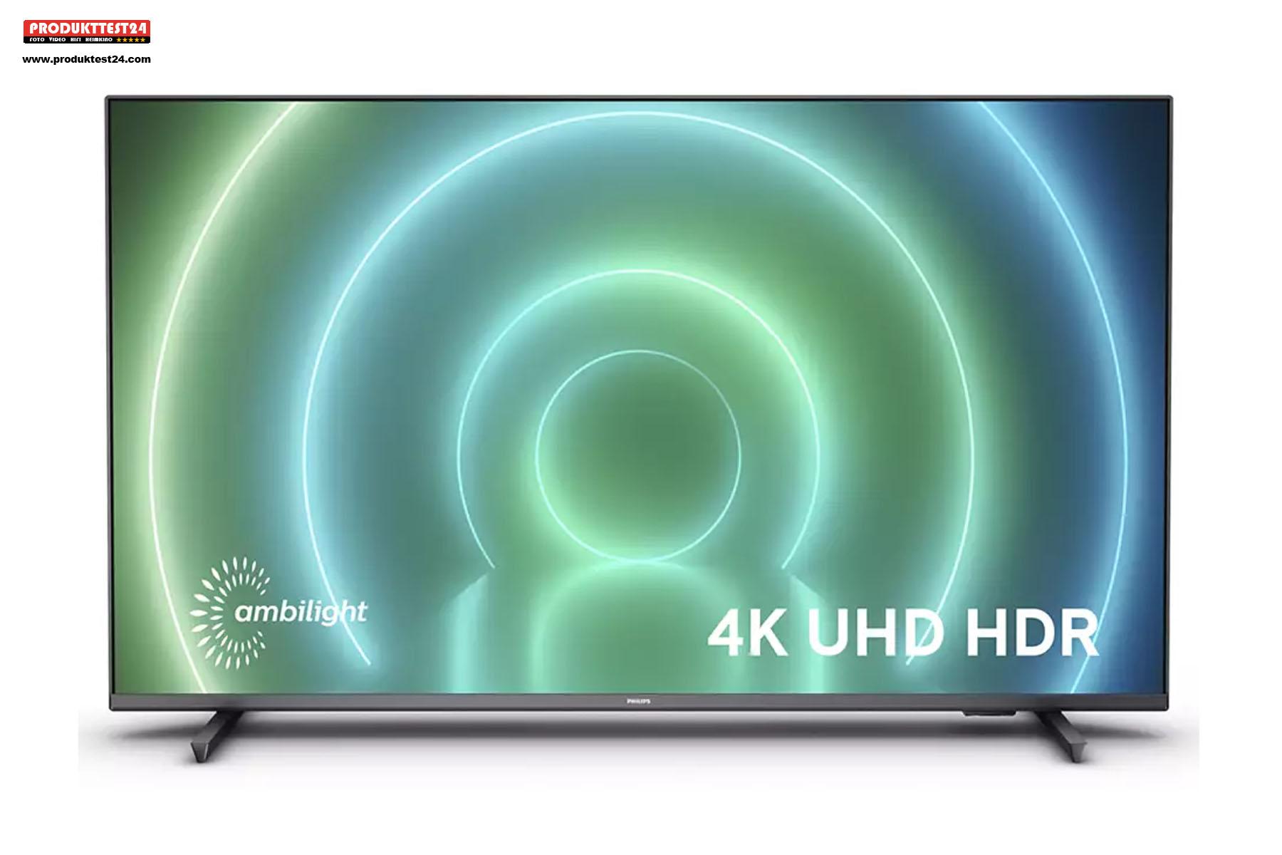 Philips 43PUS7906/12 mit Android TV 10 und Ambilight