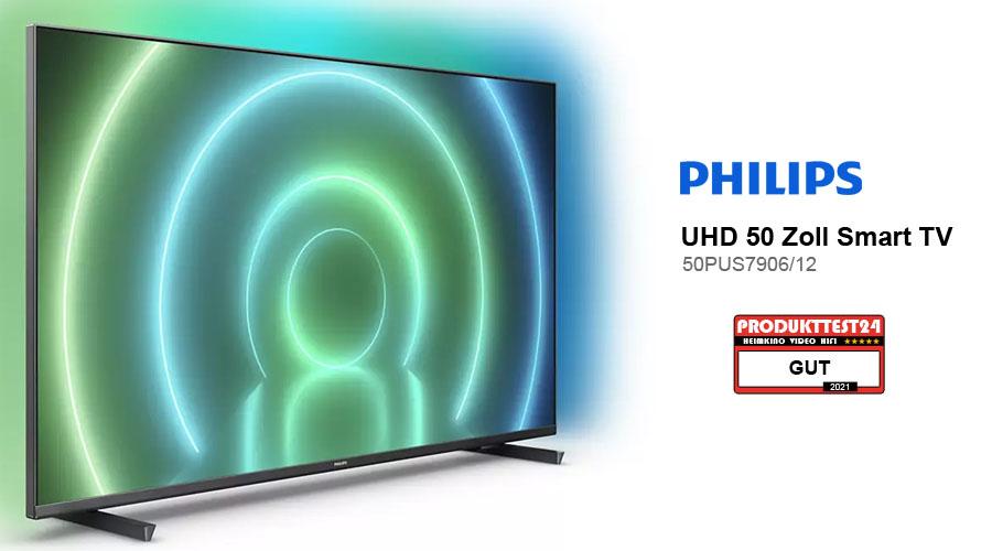 Philips 50PUS7906/12 Praxistest