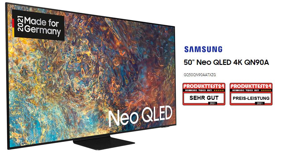 Samsung GQ50QN90A im Test