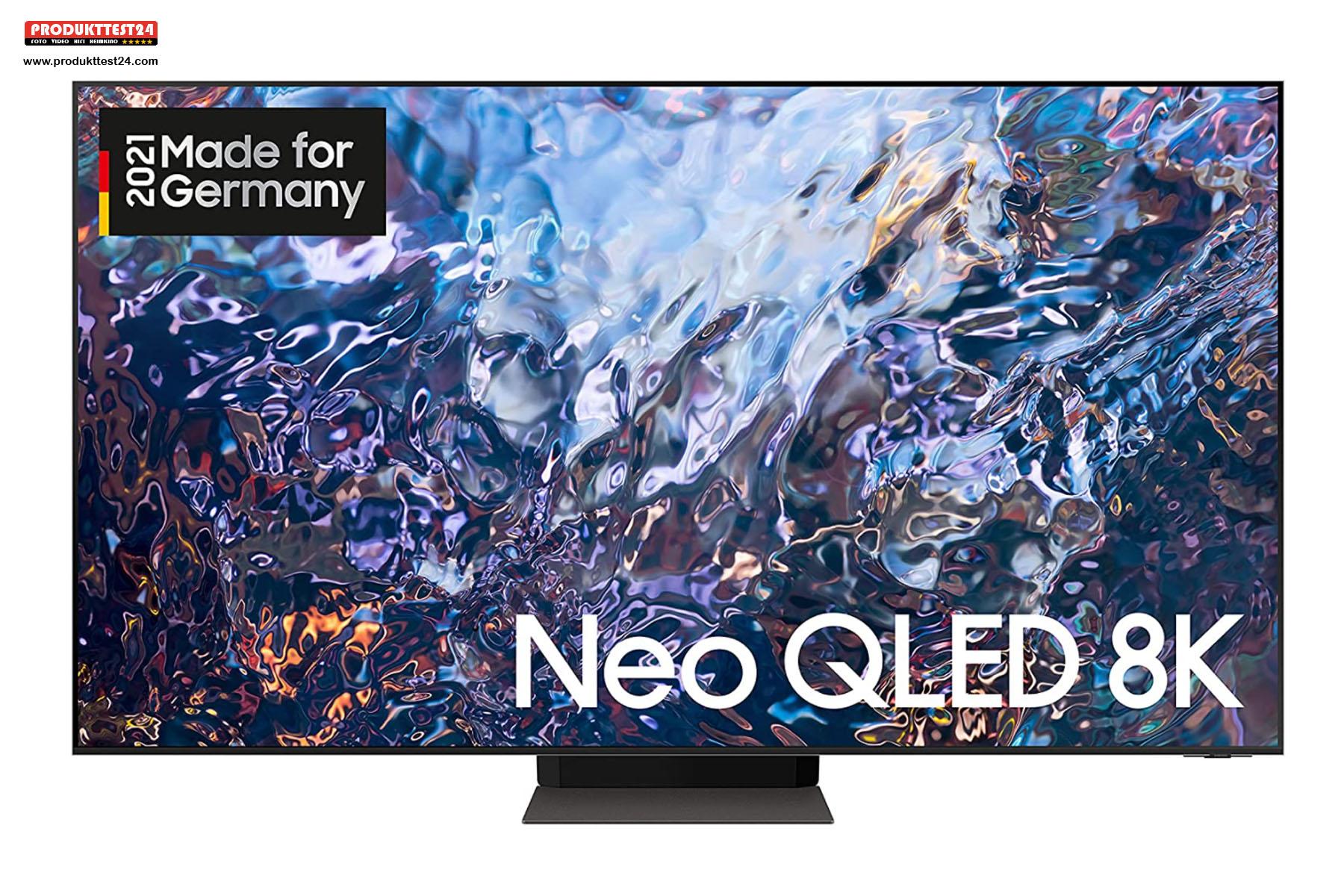 Der Samsung GQ55QN700A Neo QLED 8K-Fernseher