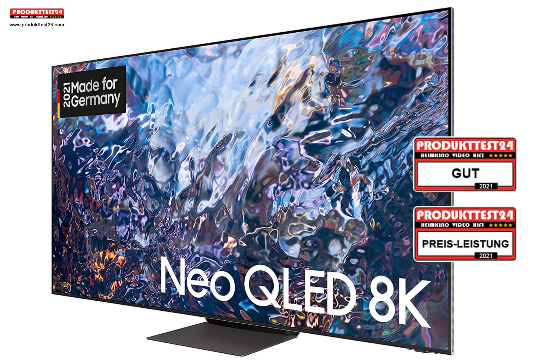 Der Samsung QN700A Neo QLED 8K-Fernseher - Testurteil: Gut!