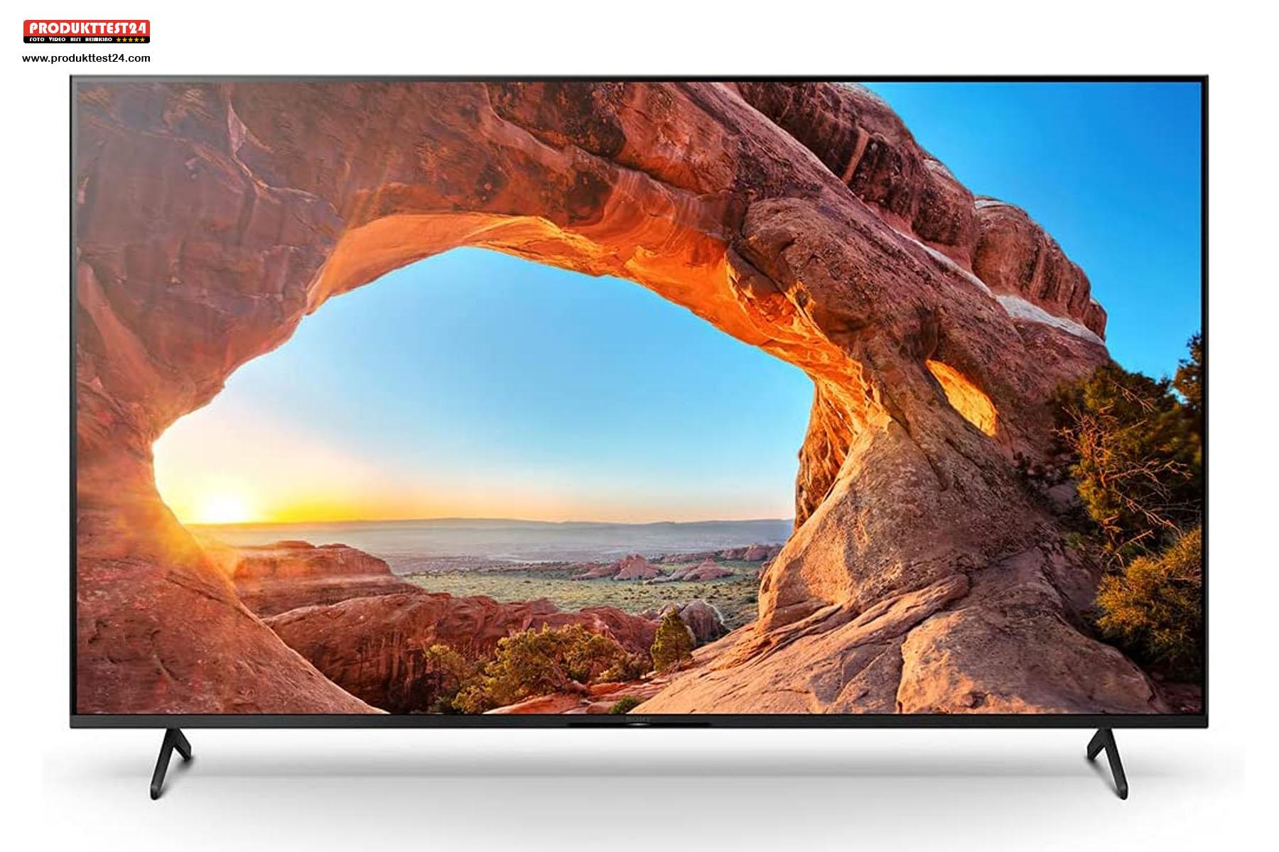 Sony KD-75X85J/P mit 100 Hz und 4K-Auflösung