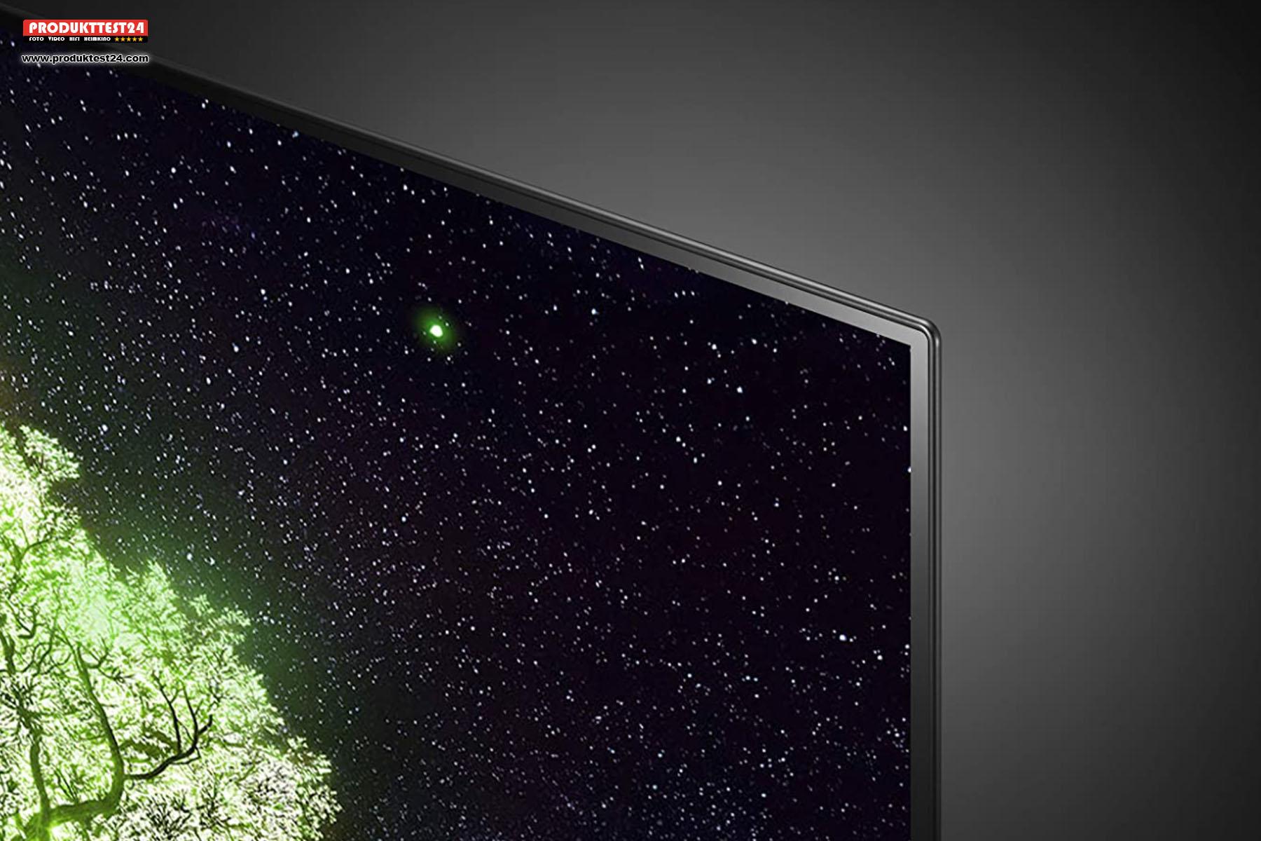Extrem dünn - Der LG OLED65A19LA sieht schick aus