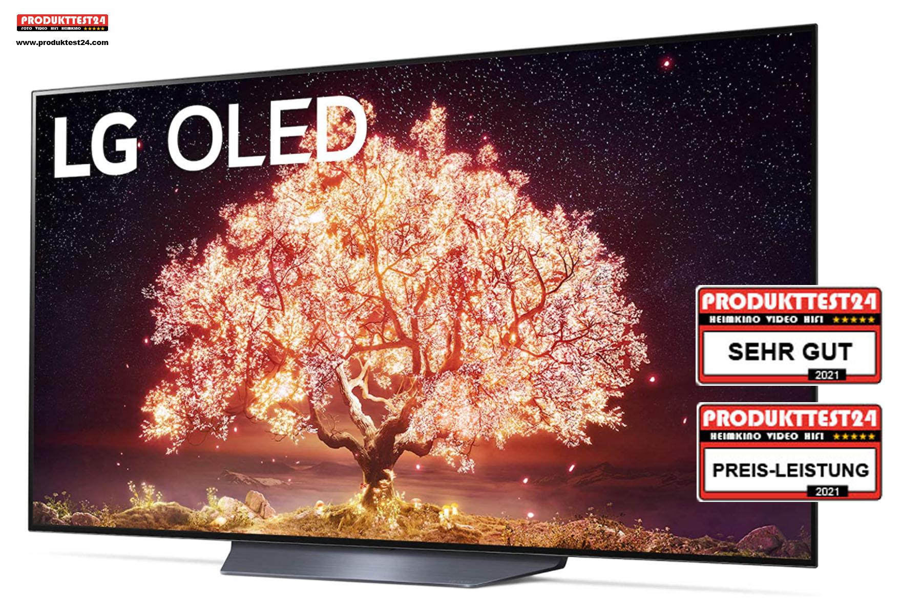 LG OLED65B19LA OLED 4K-Fernseher - Testurteil: SEHR GUT