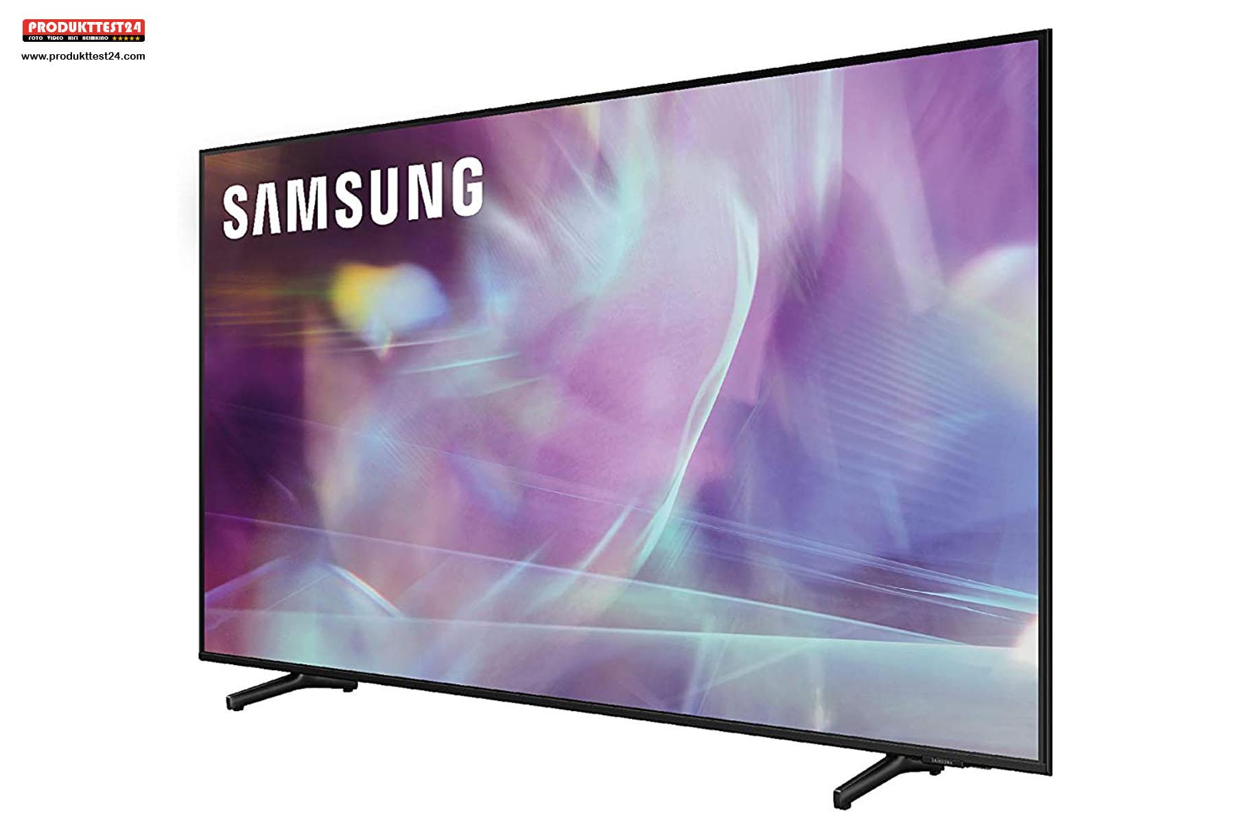Der Samsung GQ85Q60A sorgt für Kinoatmosphäre im Wohnzimmer