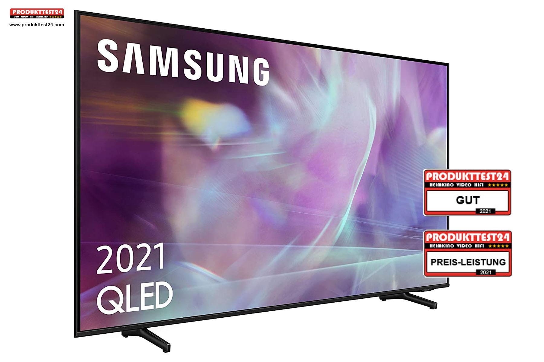 Samsung GQ85Q60A QLED 4K-Fernseher - Testurteil: GUT!