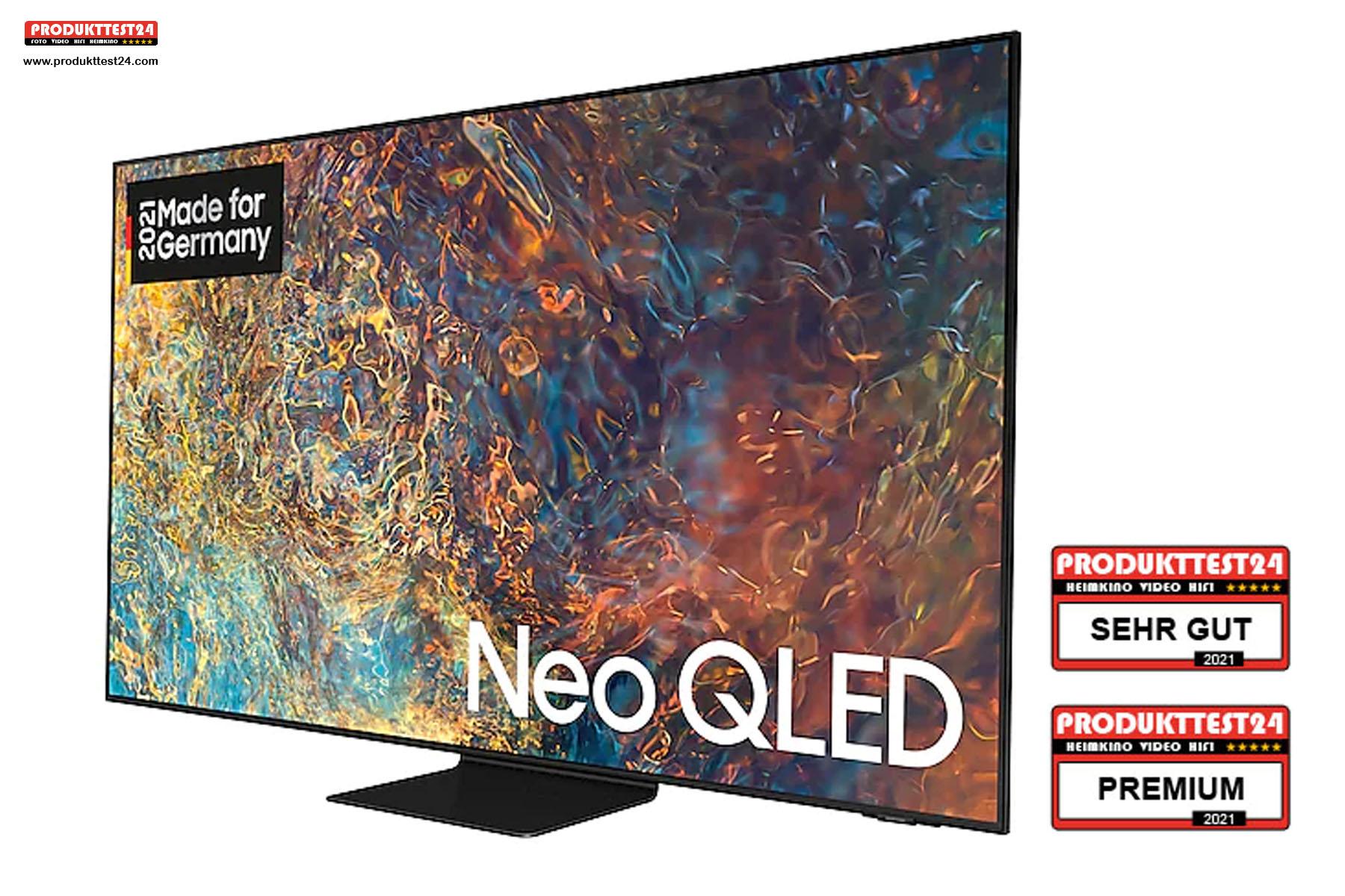 Samsung GQ50QN90A - Der beste 50 Zoll Fernseher auf dem Markt. Testurteil: Sehr gut!