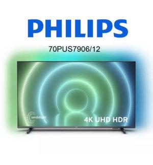 Philips 70PUS7906/12 UHD-Fernseher mit Ambilight im Test