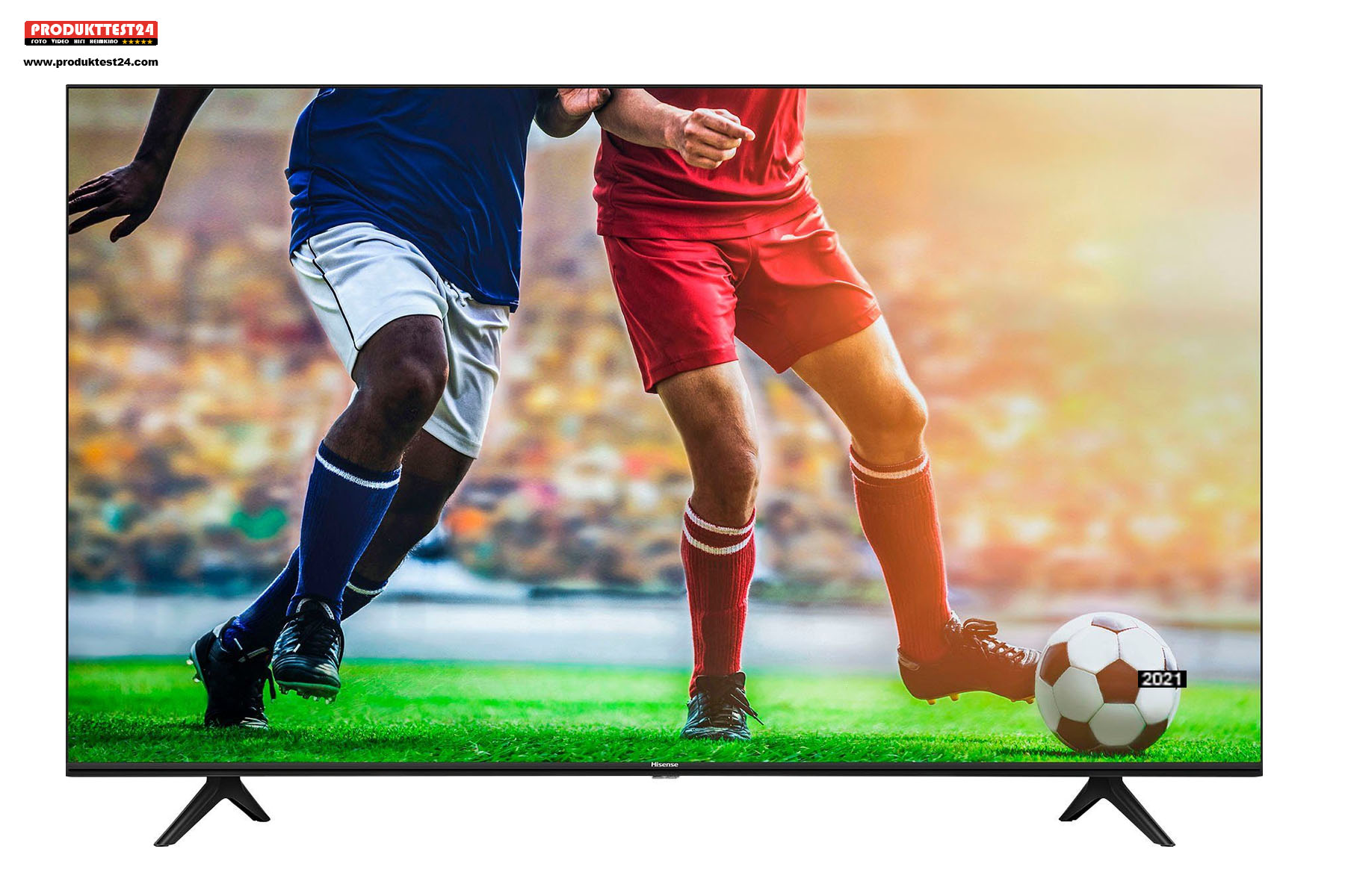 75 Zoll (190 cm) Bilddiagonale. Einer der größten Fernseher auf dem Markt.