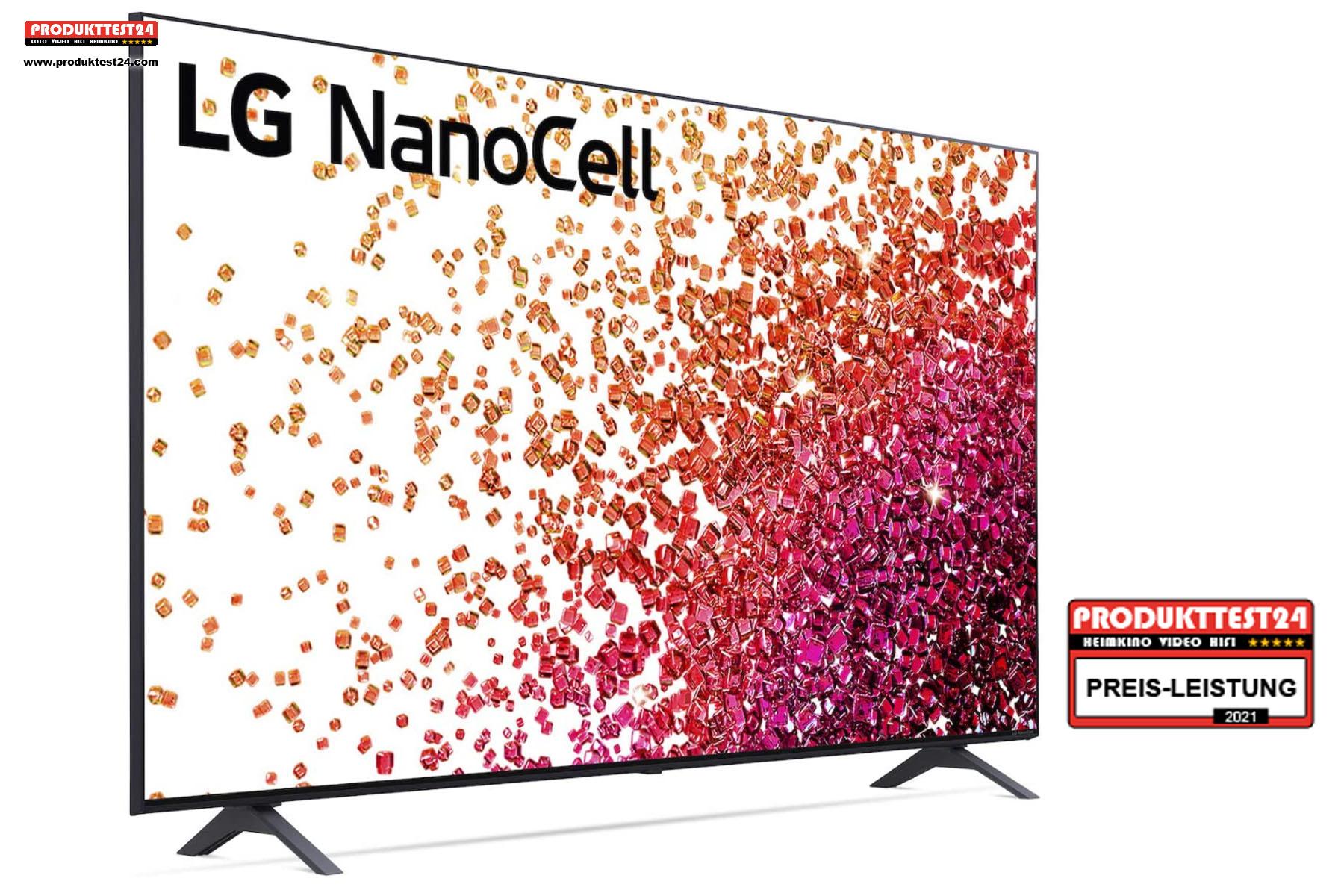 Der LG 55NANO759PA NanoCell Fernseher