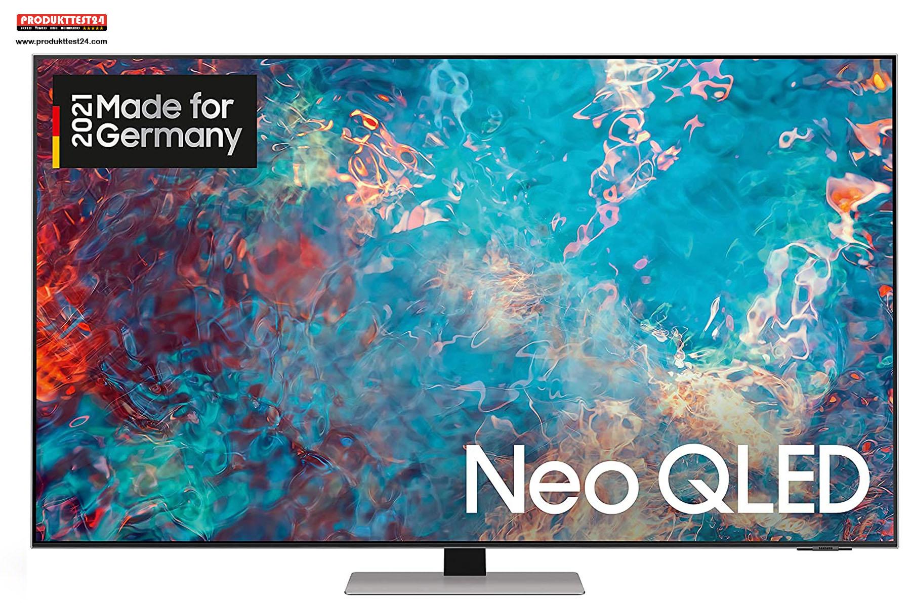Der 75 Zoll Neo QLED Fernseher QN85A aus dem Hause Samsung