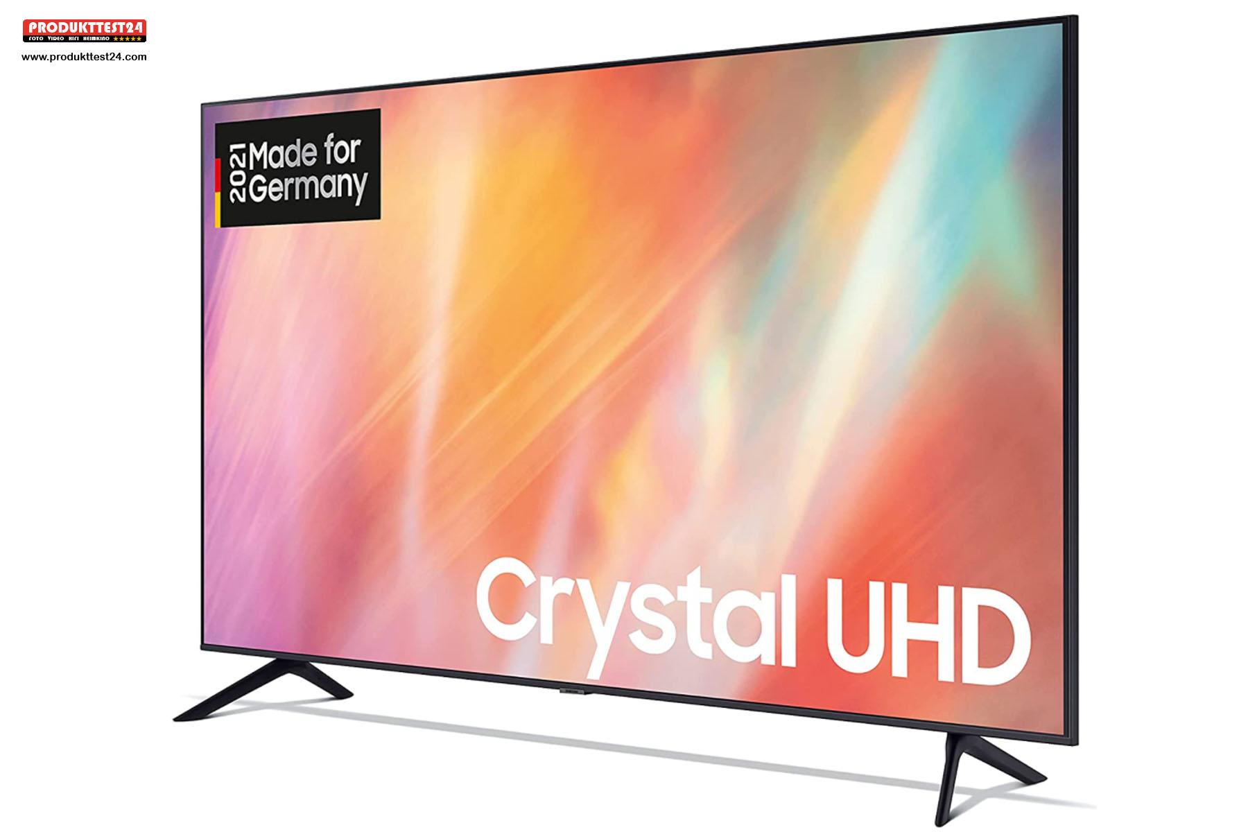 Das riesige 75 Zoll 4K-Display mit HDR-Unterstützung.