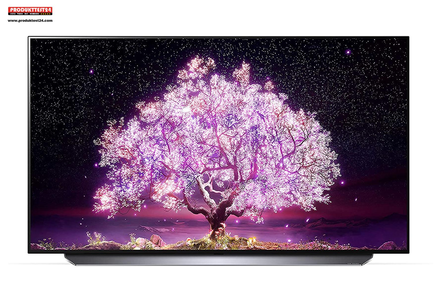Der kleinste OLED-Fernseher mit einem 48 Zoll großem Display.