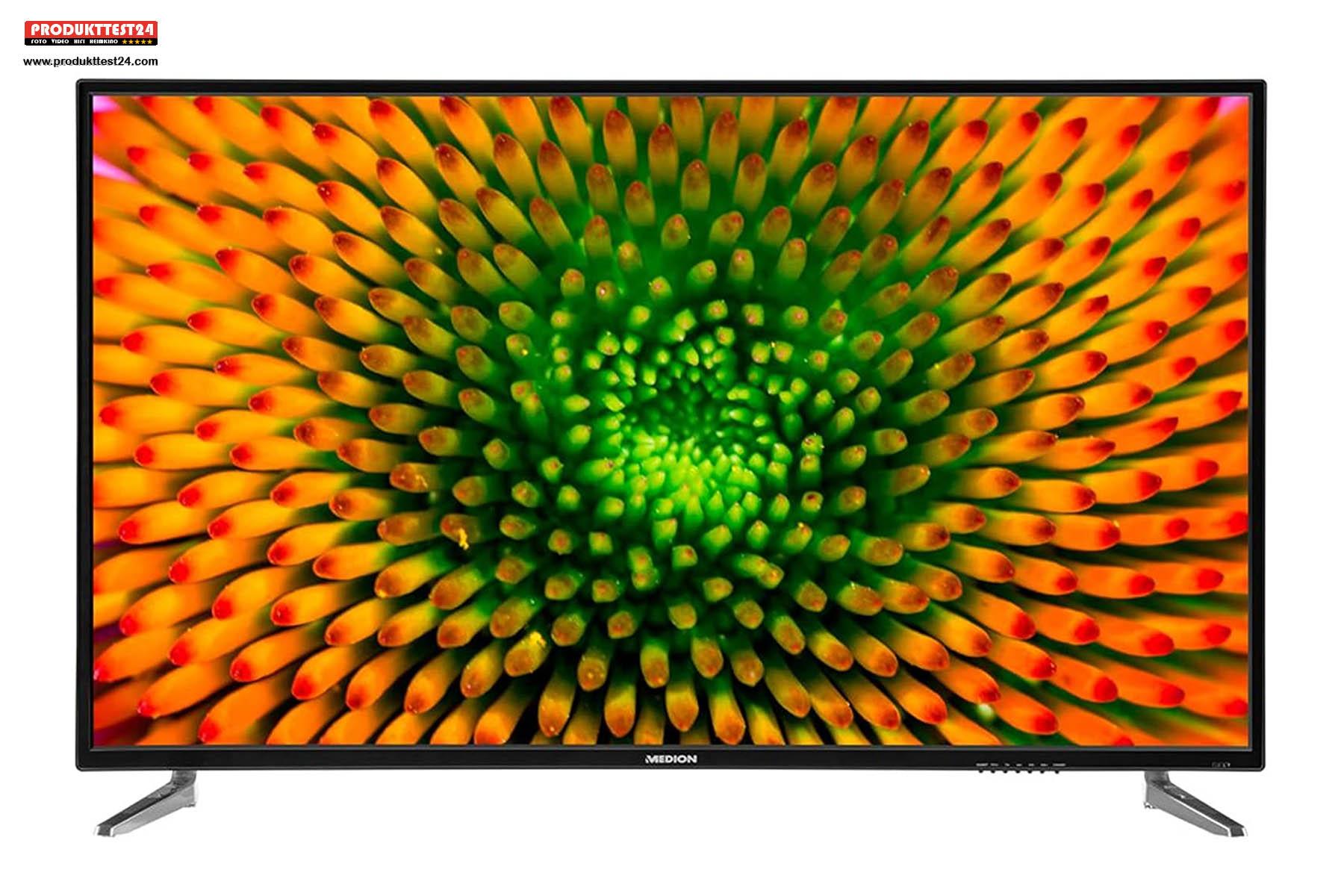 50 Zoll / 126 cm Bilddiagonale und 4K UHD Auflösung