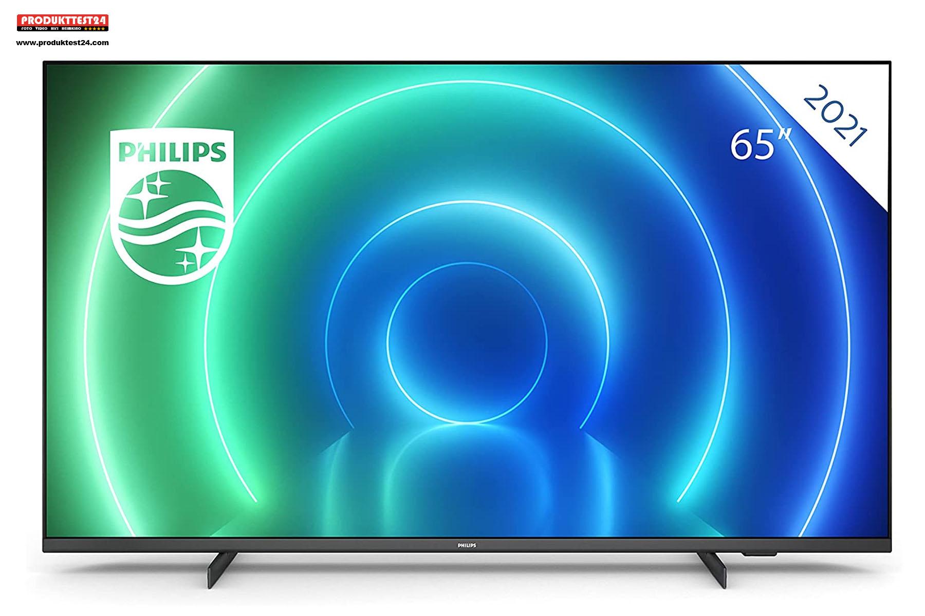 Philips PUS7506 - Der günstige 4K UHD-Fernseher ohne Ambilight.
