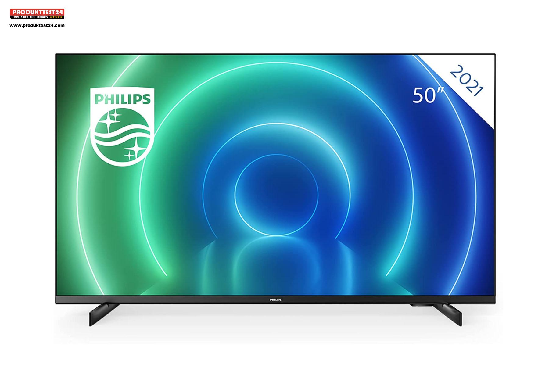 Der günstige 50 Zoll 4K-Fernseher von Philips.