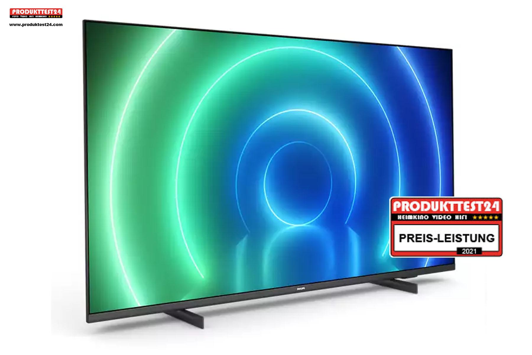 Das Preis-Leistungsverhältnis des Philips 65PUS7506/12 stimmt.