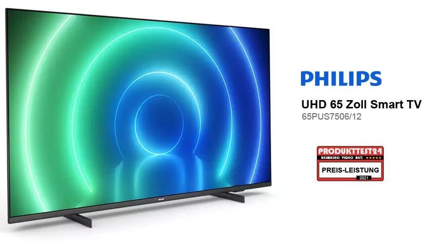 Philips 65PUS7506/12 im Test