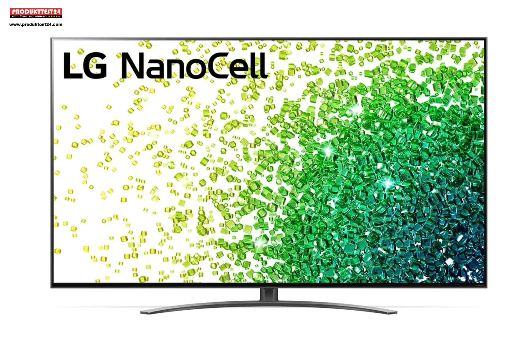 LG 75NANO869PA mit 75 Zoll Bilddiagonale und 4K-Auflösung