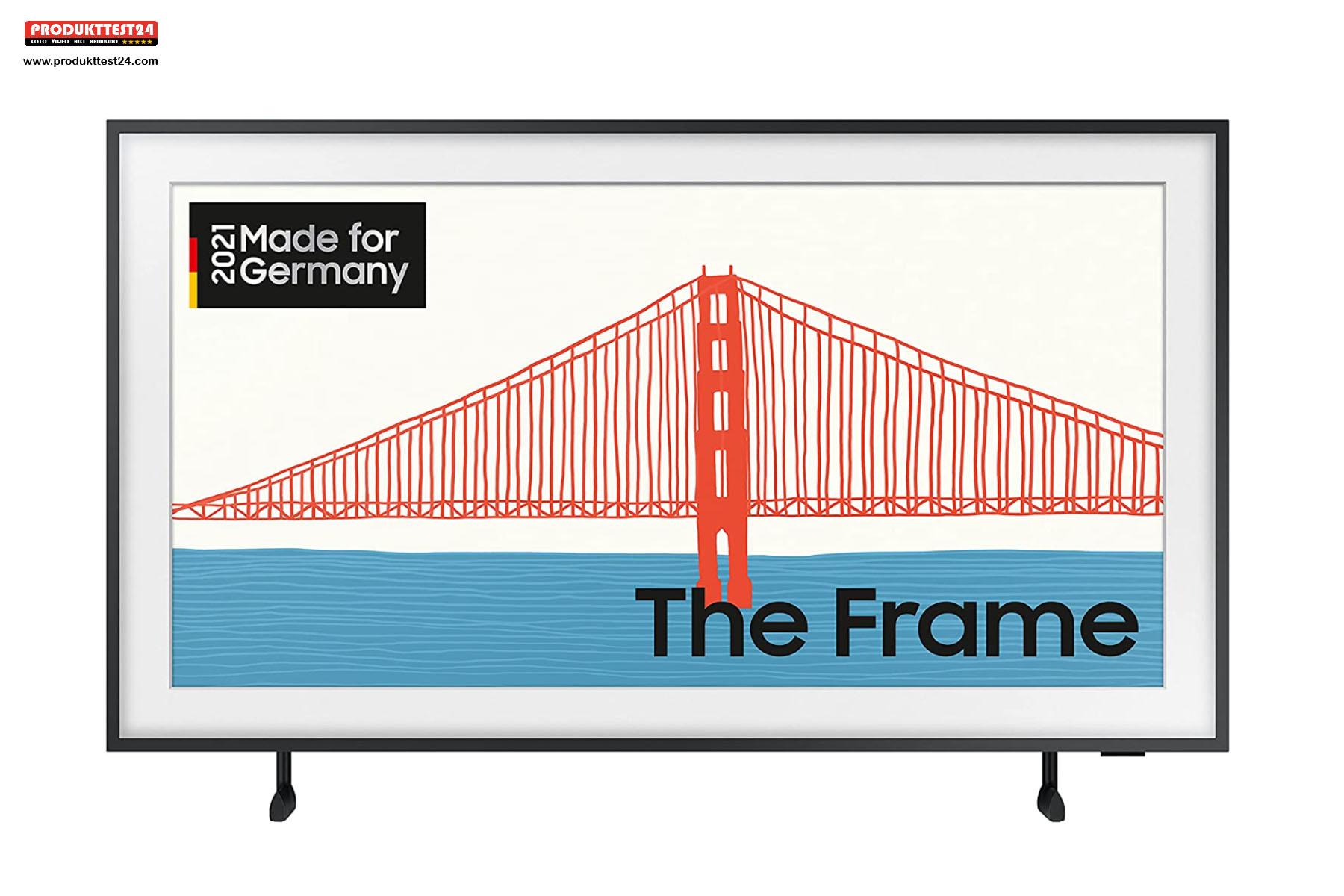 Der Samsung The Frame GQ43LS03A QLED 4K-Fernseher