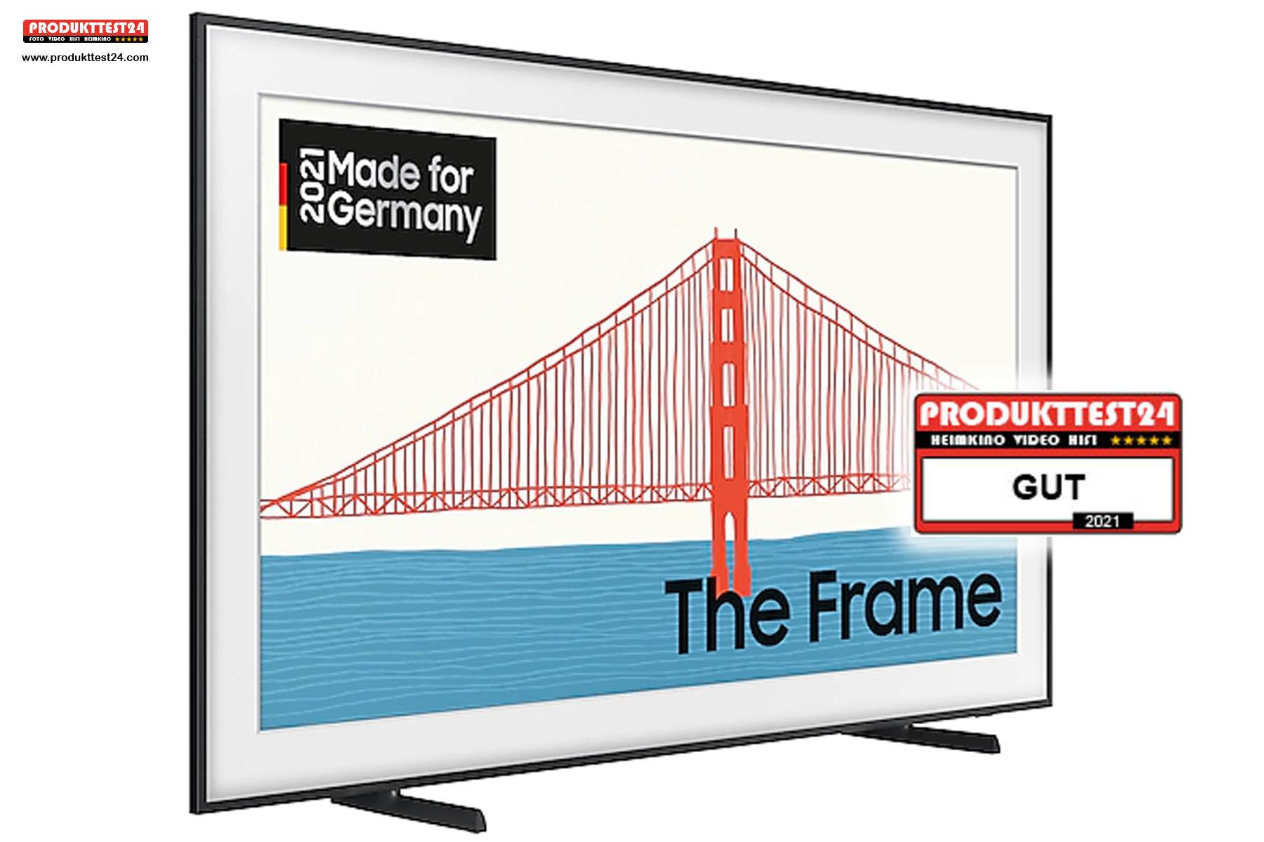 """Samsung The Frame 55"""" von 2021 (Samsung GQ55LS03A) - Testurteil: GUT"""