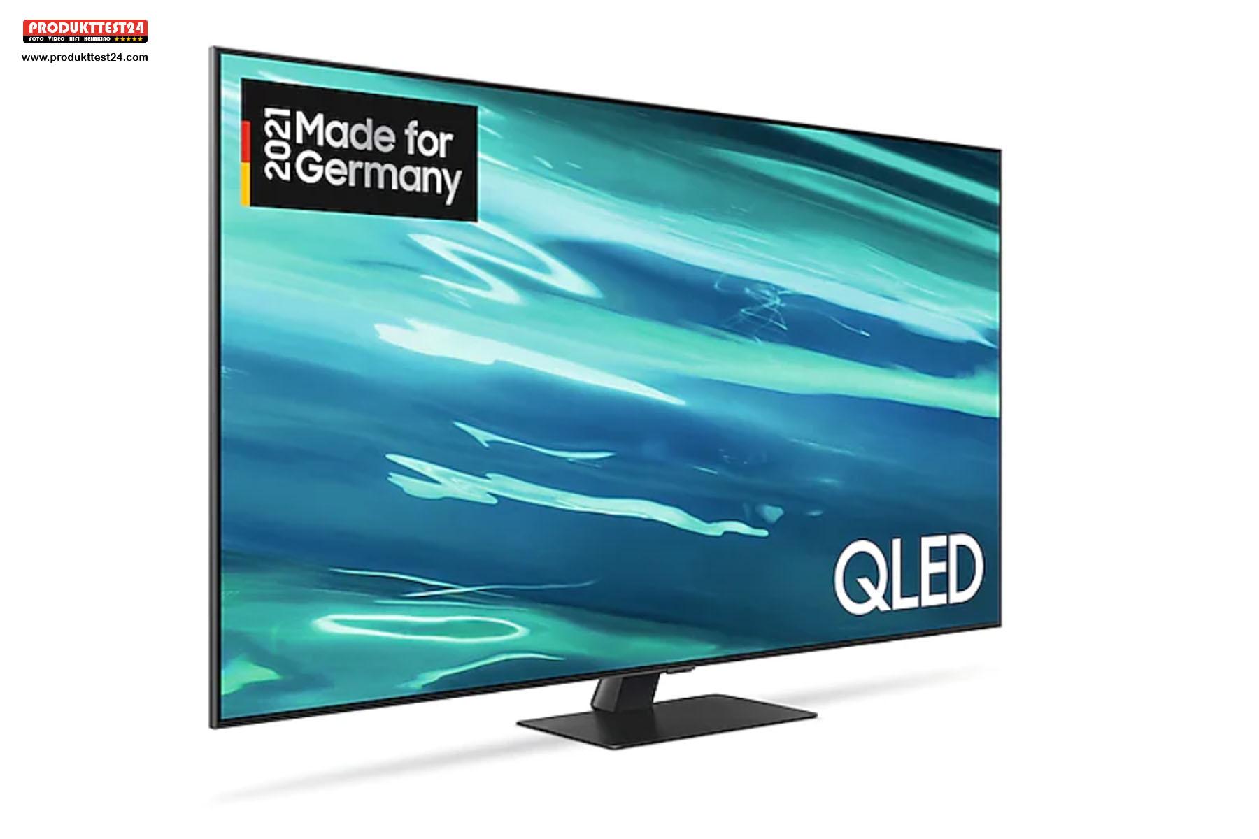 QLED 4K-Fernseher mit 65 Zoll Bilddiagonale