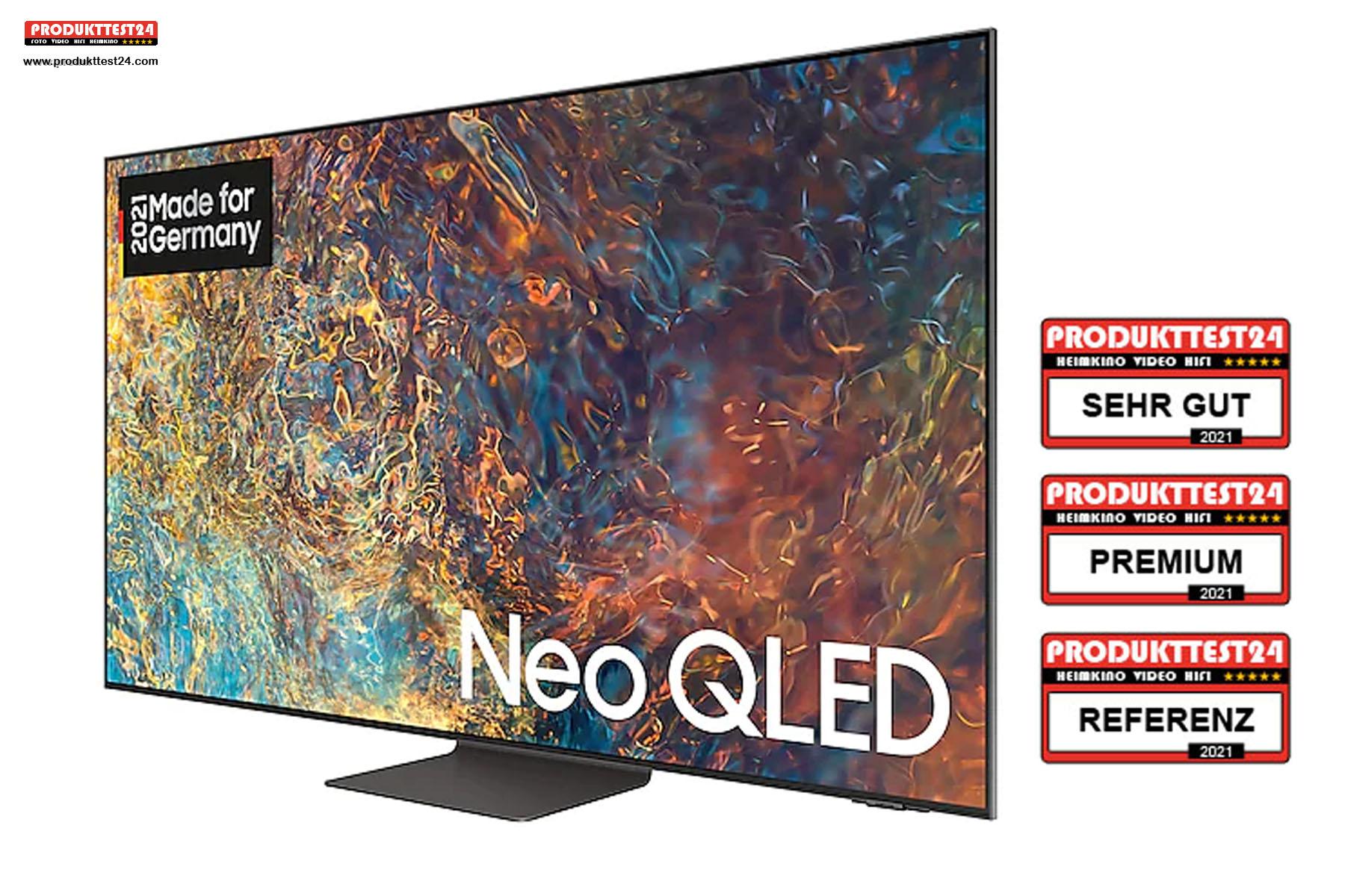 Samsung GQ55QN95A - Einer der besten 55 Zoll 4K-Fernseher 2021.